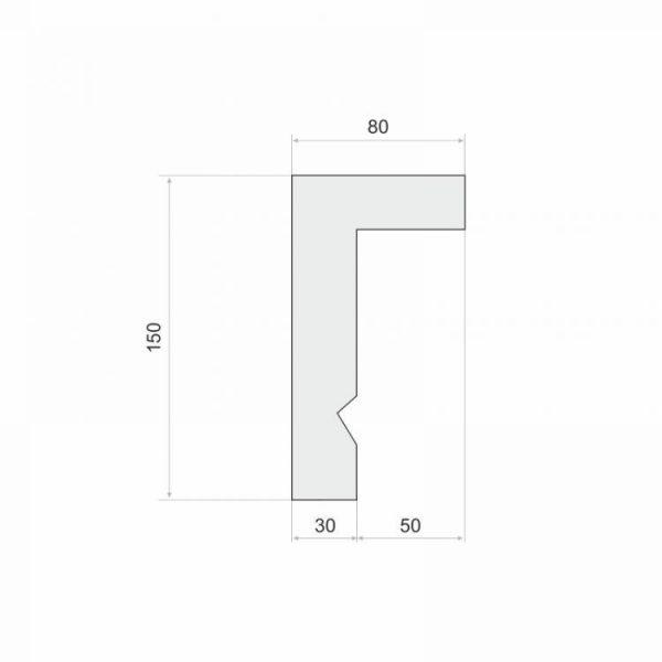 LKO12A Decor System 8 cm
