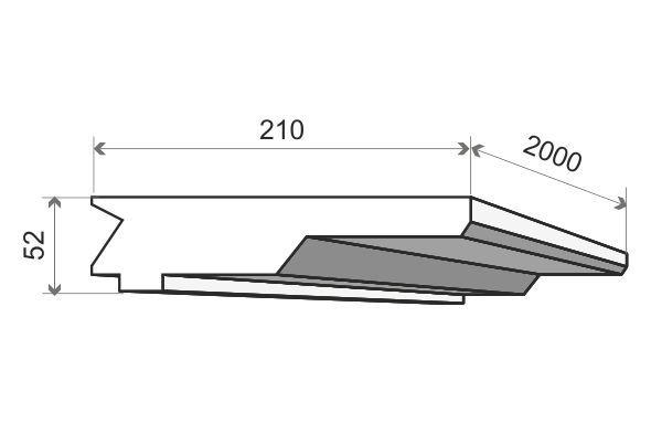 LO13 Decor System 21 cm