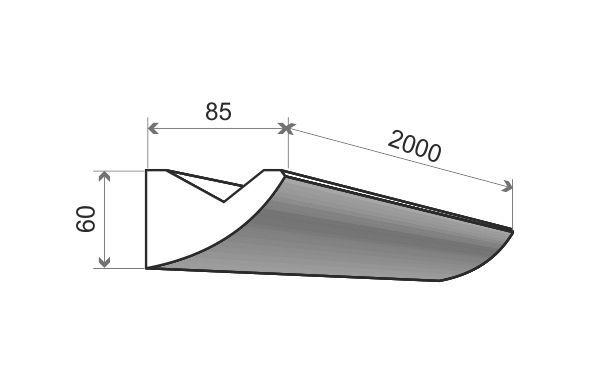 LO1A Decor System 8.5 cm